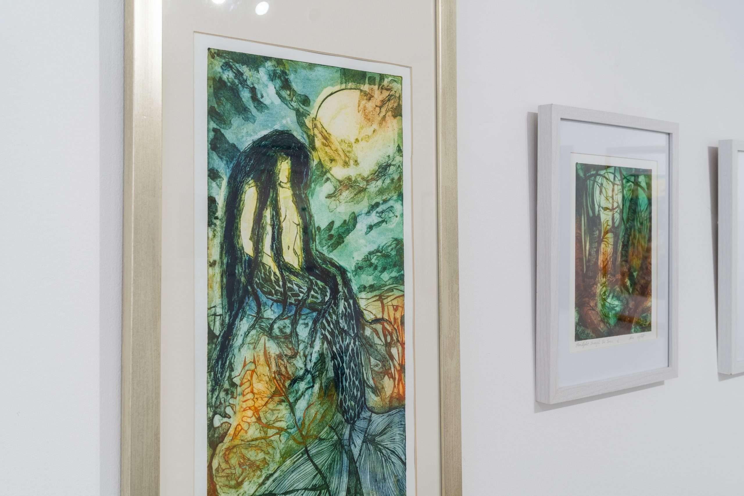 The Mermaid And The Dusky Moon by Alice Wyatt
