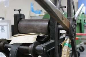 Seacourt Print Workshop First Printing Press